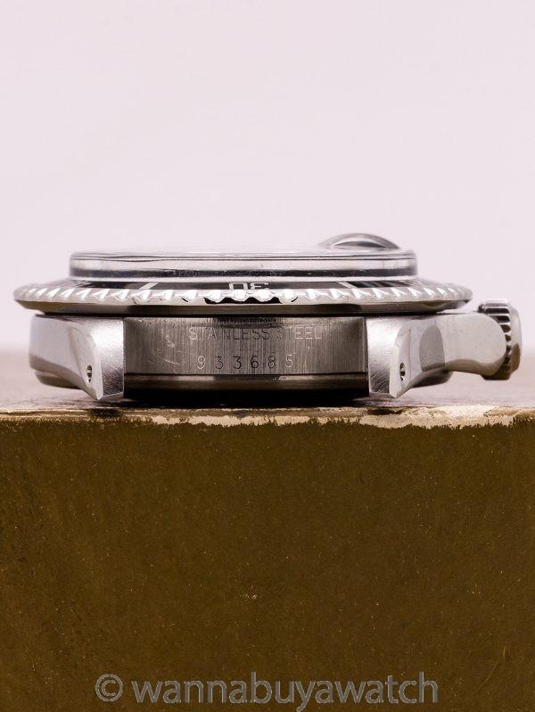 "Tudor Black ""Snowflake"" Submariner w/ Date ref# 94100 w/ Box & Papers circa 1980"