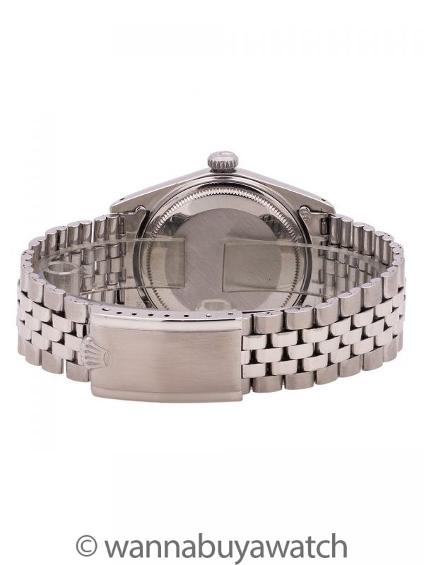 """Rolex Datejust ref 1601 Stainless Steel """"Tropical"""" circa 1965"""