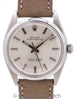 Rolex Oyster Perpetual ref 1002 Chronometer circa 1966