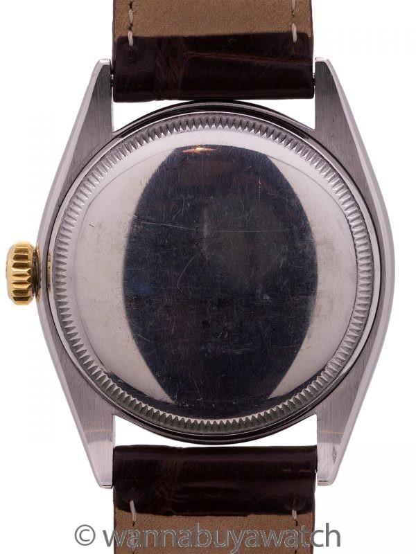 Rolex SS/14K YG Oyster Perpetual ref 6085 circa 1953