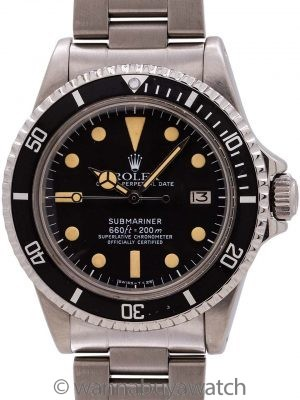 Rolex Submariner ref# 1680 White Mk 1 circa 1979