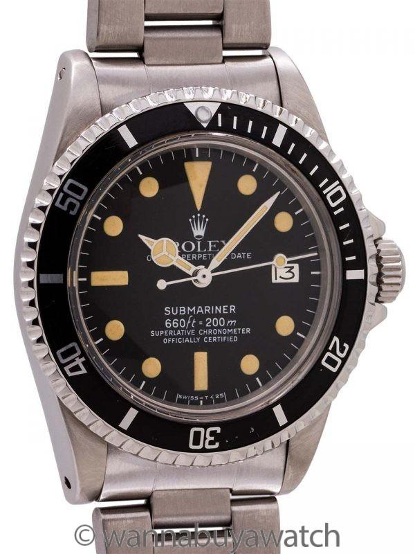 Rolex Submariner ref# 1680 White Mk 1 circa 1979