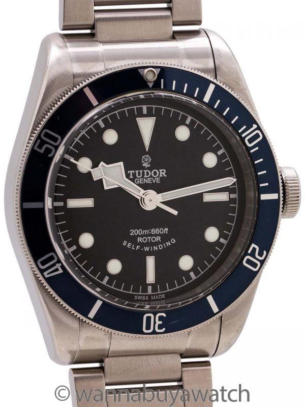 Tudor Heritage Black Bay Blue ref 79220 circa 2015