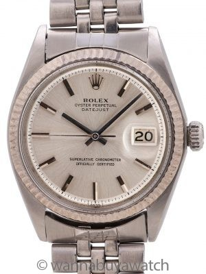 Rolex Datejust Stainless Steel ref 1601 circa 1968
