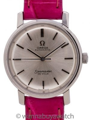 Omega Automatic Deville Lady Stainless Steel circa 1966