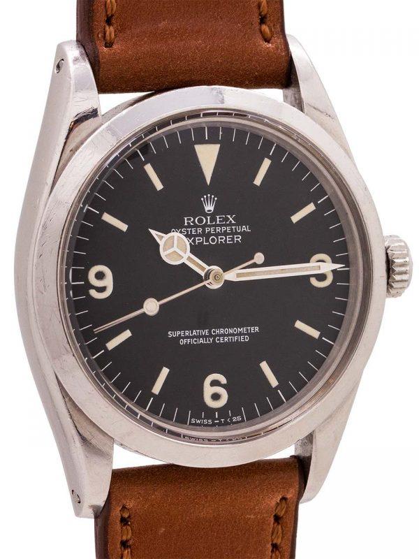 Rolex Explorer 1 ref 1016 Hack Feature circa 1972