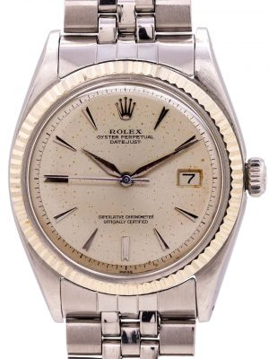 Rolex Datejust ref# 1601 Stainless Steel circa 1962