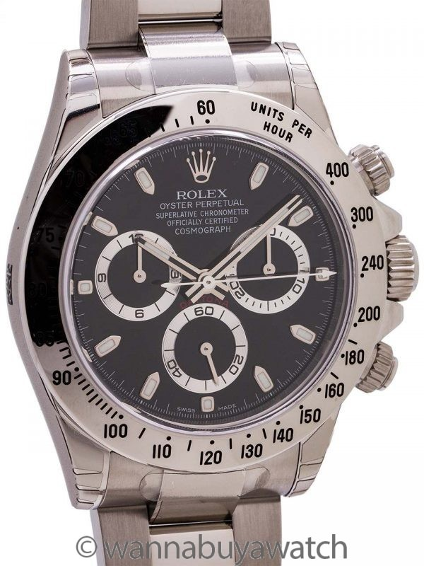 Rolex Daytona ref 116520 circa 2012 Box & Papers New Old Stock