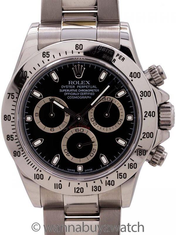 Rolex Daytona ref 116520 circa 2006