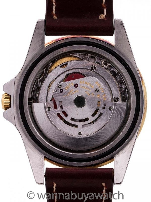 "Rolex GMT SS/18K YG ref 16753 ""Rootbeer"" circa 1981"