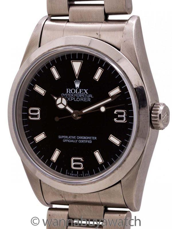 Rolex Explorer ref 14270 Tritium Dial circa 1995