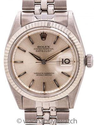 Rolex Datejust ref# 1601 Stainless Steel circa 1960