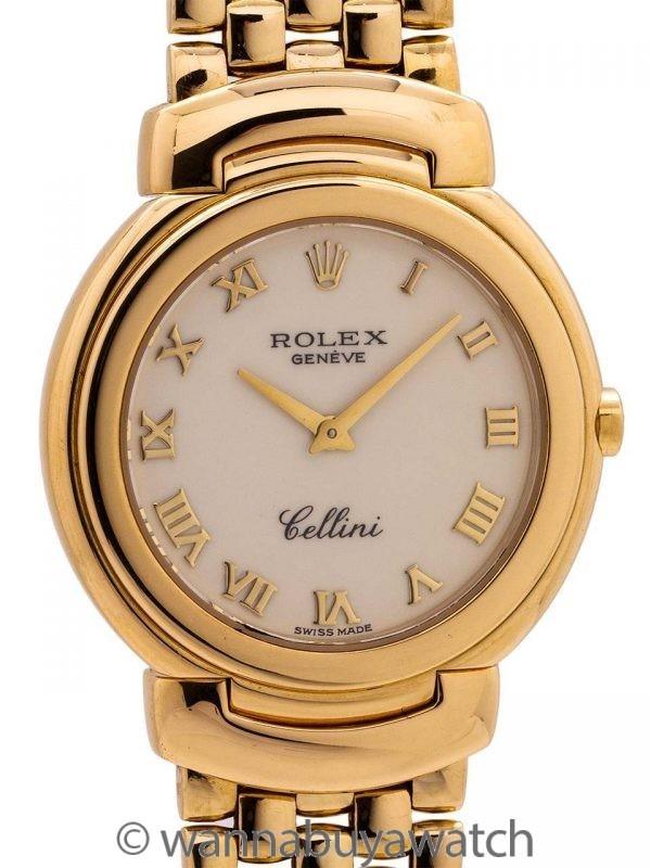Rolex Cellini Ref. 6622 18K YG Midsize circa 1994
