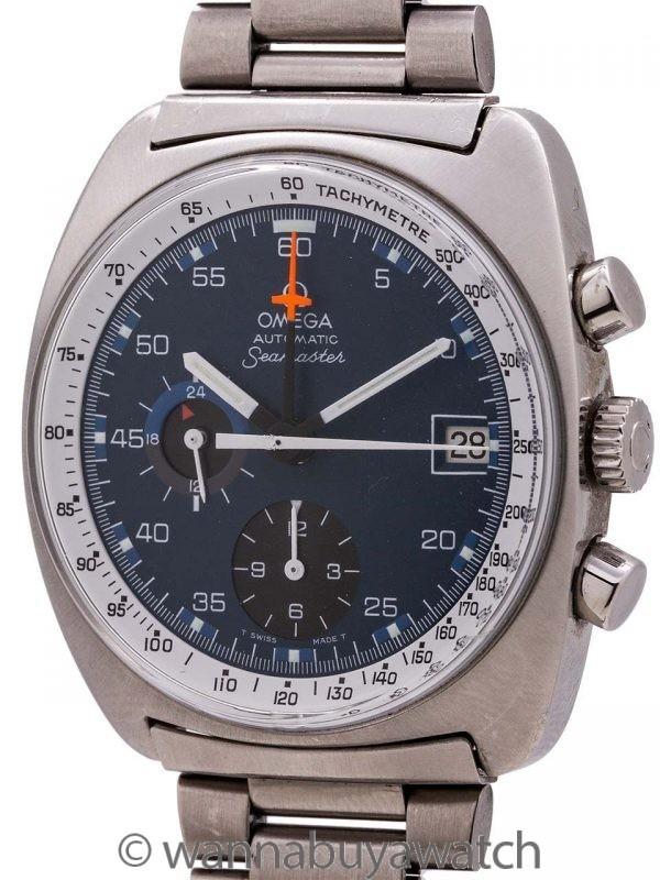 Omega SS Seamaster Chronograph Automatic circa 1969