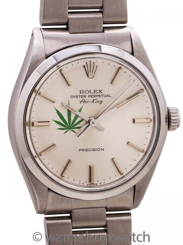 "Rolex Oyster Perpetual Airking ref 5500 ""4/20 Edition"" circa 1987"