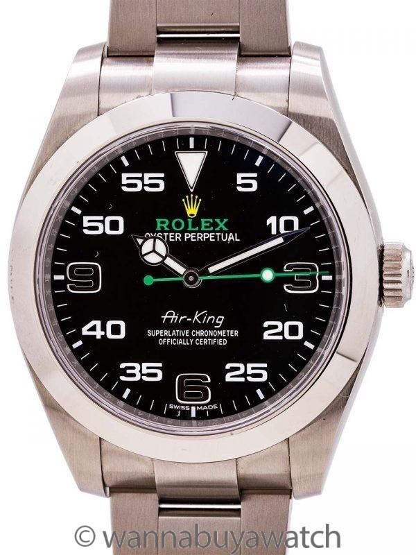 Rolex Airking ref 116900 circa 2018 B & P