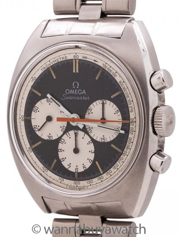 Omega SS Seamaster Chronograph ref 145.016-68