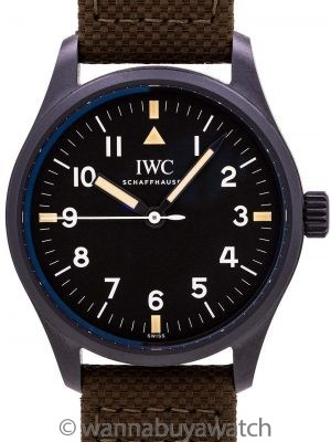 "IWC Pilot's Watch Mark XVIII Edition ""Hodinkee"" circa 2018"