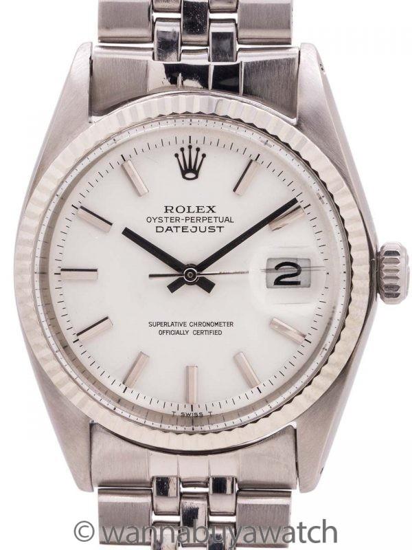 Rolex Datejust Stainless Steel/14K WG ref 1601 circa 1968