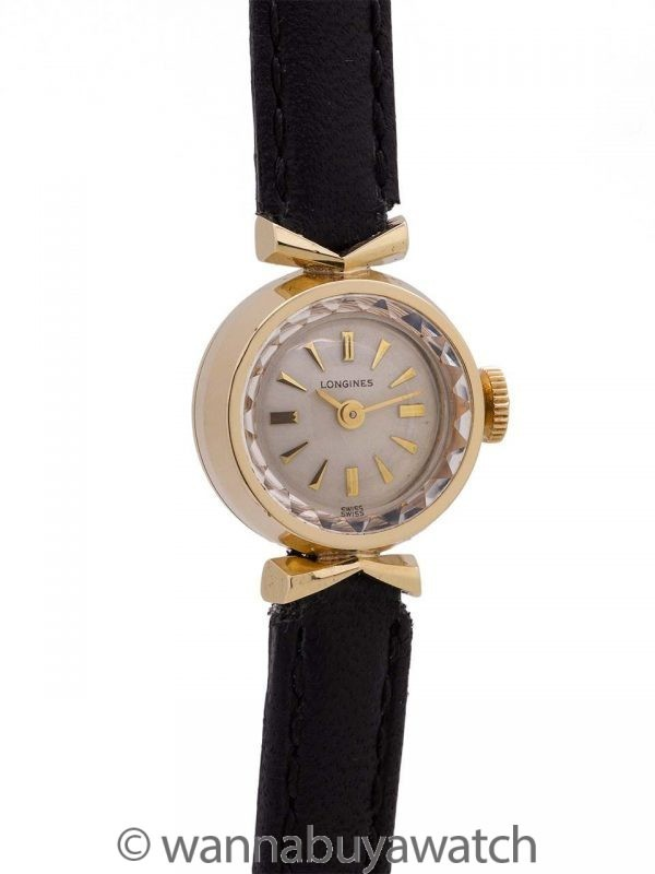 Lady Vintage Longines 10K Gold Filled circa 1960's