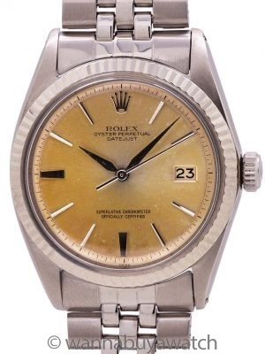 Rolex Datejust ref 1601 Stainless Steel circa early 1958