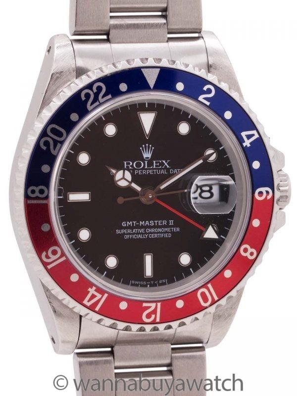 Rolex GMT II ref 16710 Pepsi circa 1995