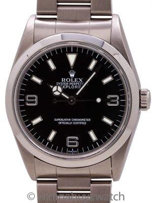"Rolex Explorer 1 ref# 14270 ""SWISS"" circa 1999"