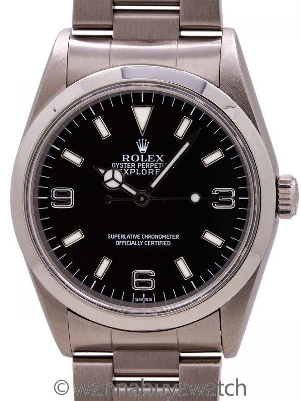 Rolex Stainless Steel Explorer 1 ref# 14270  circa 1999