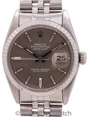 Rolex Datejust ref 16030 Grey Dial circa 1979