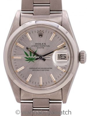 "Rolex Oyster Perpetual Date ref 1500 ""4/20 Edition"" circa 1974"