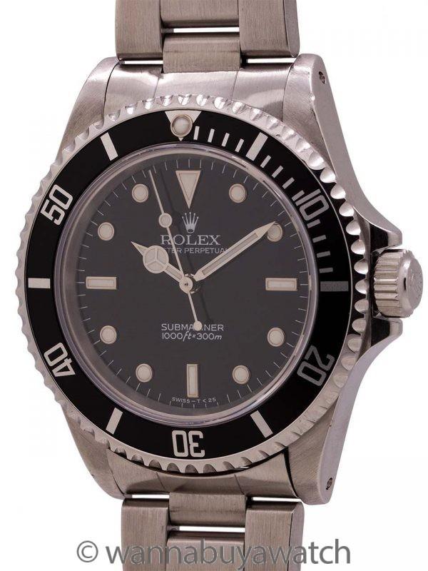 Rolex Submariner ref 14060 Tritium Dial circa 1995