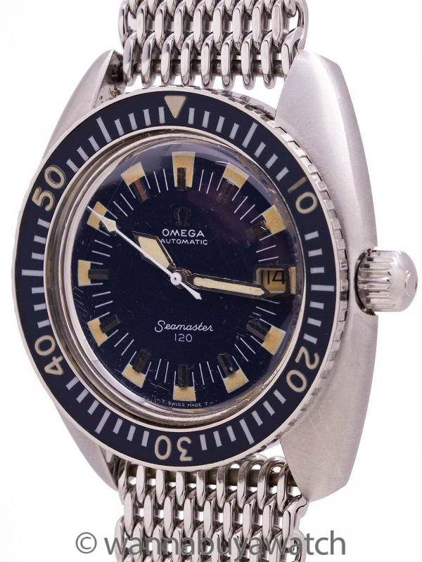 Omega Seamaster 120 Deep Blue Diver's ref 166.073 circa 1970
