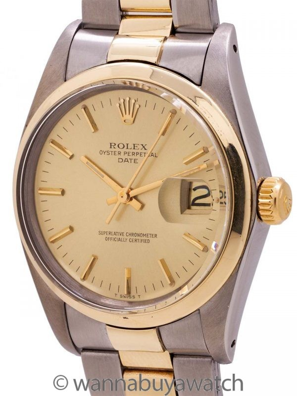 Rolex Oyster Perpetual Date ref 1505 circa 1978