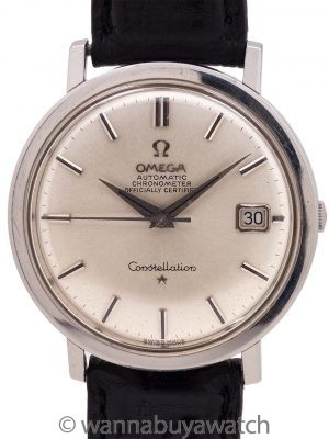 Omega Constellation ref 168.004 Stainless Steel circa 1966