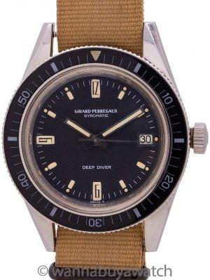 Girard Perregaux Deep Diver Gyromatic ref # 8867V circa 1960's