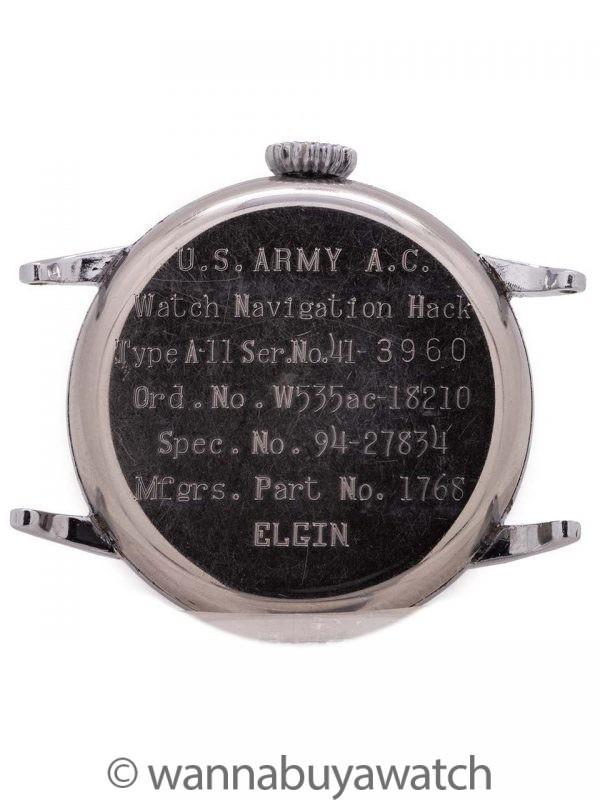 Elgin A-11 U.S. Army circa WWII