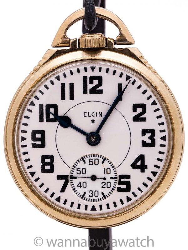 Elgin BW Raymond Railroad Pocketwatch circa 1939