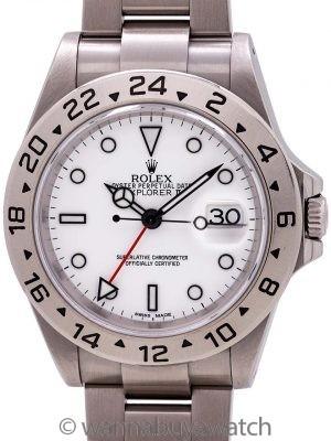 Rolex Explorer II ref 16570 circa 2000