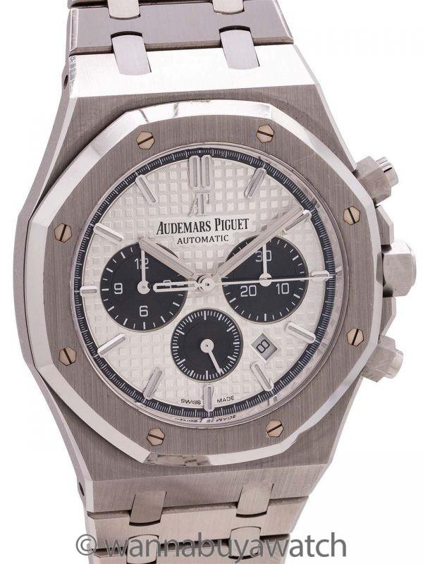 Audemars Piguet Royal Oak Chronograph ref. 26331ST circa 2017 B & P