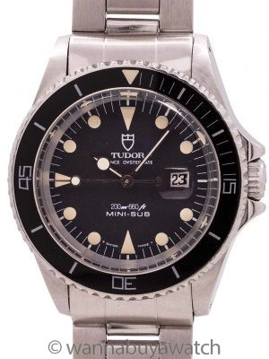 Tudor Stainless Steel Mini-Sub ref 94400 circa 1985