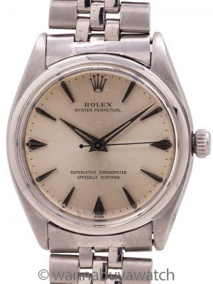 Rolex Oyster Perpetual ref 1002 Chronometer circa 1955