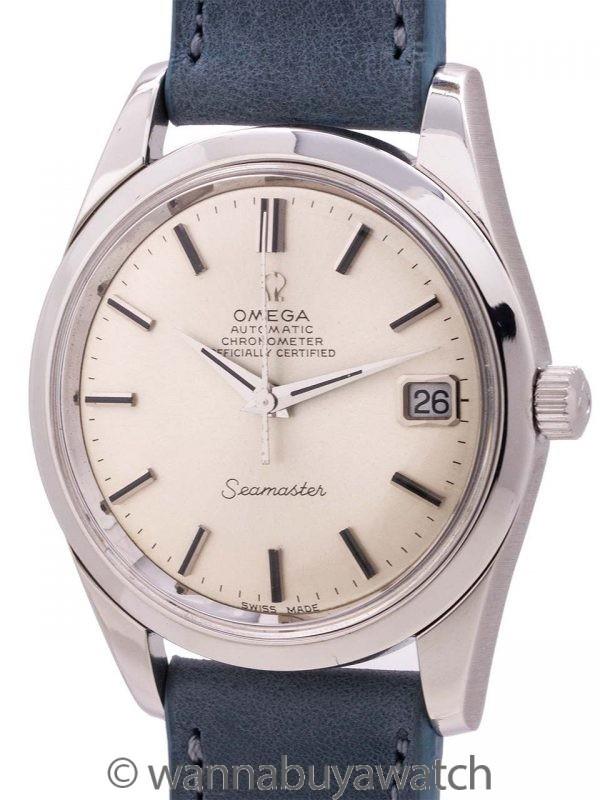 Omega Chronometer Certified Seamaster ref 166.010 circa 1969