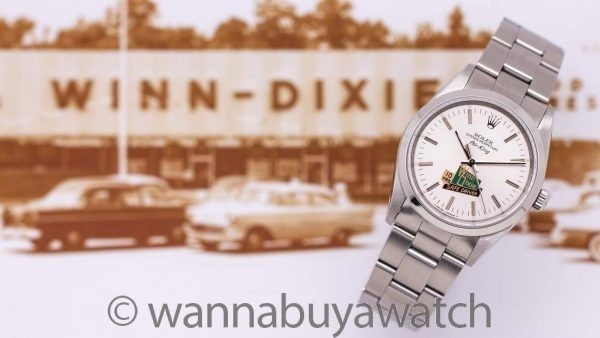 "Rolex AirKing ref 14000 ""Winn Dixie"" Safe Driving Award circa 1990"