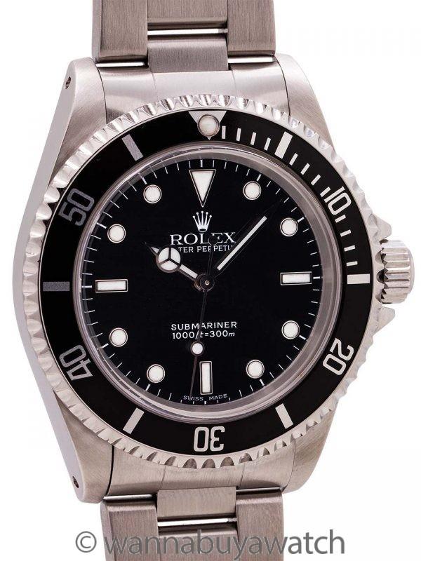 Rolex Submariner ref 14060 Stainless Steel circa 2000