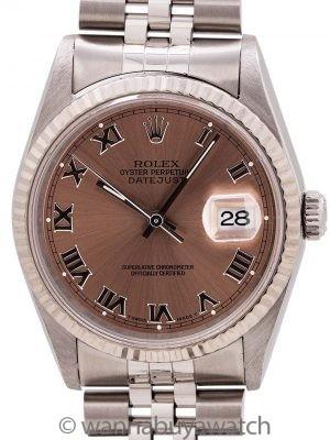 Rolex Datejust ref# 16234 SS/18K WG circa 1995