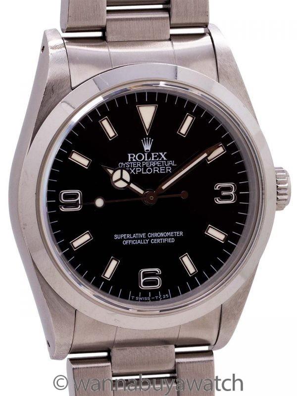 Rolex Explorer ref 14270 Tritium circa 1991
