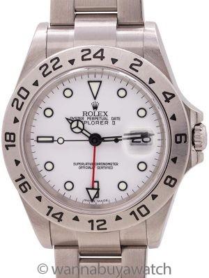 Rolex Explorer II ref 16570 circa 2003 Polar