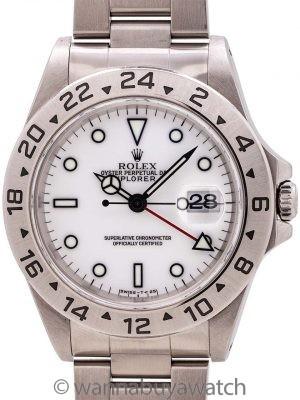 "Rare Rolex Explorer II Transitional ref. 16570 ""Tuminova"" Dial circa 1998"