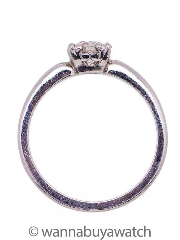 Diamond Engagement Ring 0.50ct circa 1930s