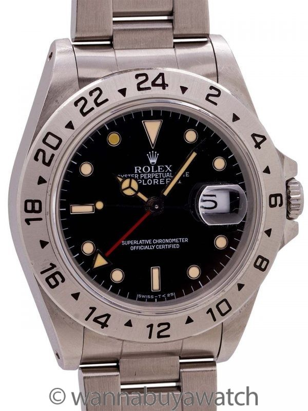 Rolex Explorer II ref 16570 Tritium circa 1991